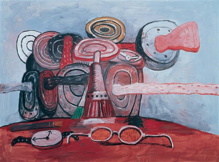 As It Goes, 1978 - Philip Guston