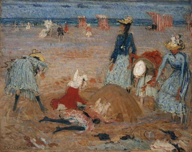 Boulogne Sands - Philip Wilson Steer