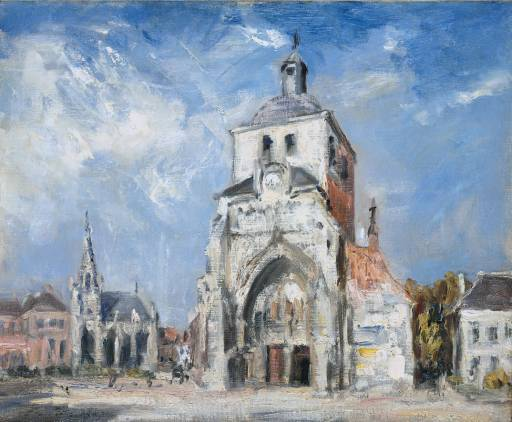 The Church at Montreuil, 1907 - Philip Wilson Steer