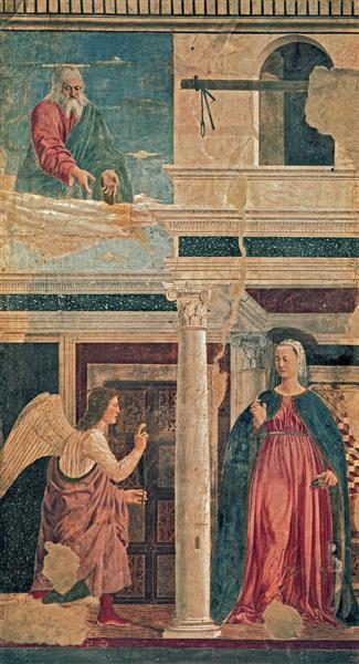 Annunciation, 1464 - Piero della Francesca
