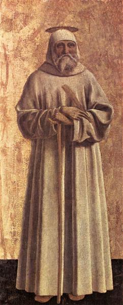 St. Benedict, 1444 - 1464 - Piero della Francesca