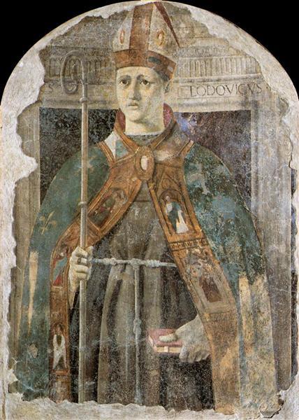 St. Ludovico, c.1460 - Piero della Francesca