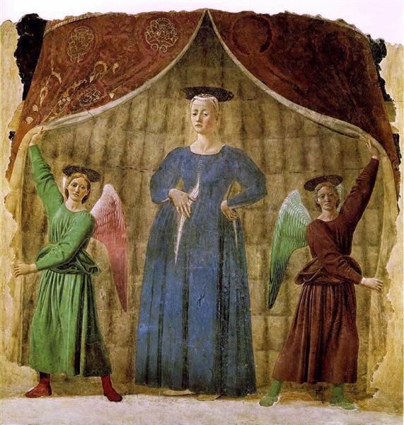 Madonna del Parto, c.1460 - Piero della Francesca