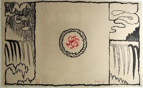 L'Eau Douce, 1976 - Pierre Alechinsky
