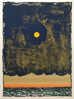 Low Tide (Marée basse), 1977 - Pierre Alechinsky