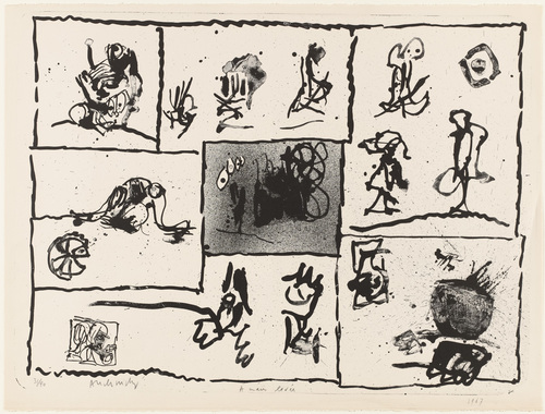 With Raised Hand (A main levée), 1967