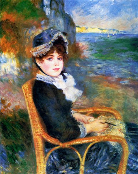 By the Seashore, 1883 - Pierre-Auguste Renoir
