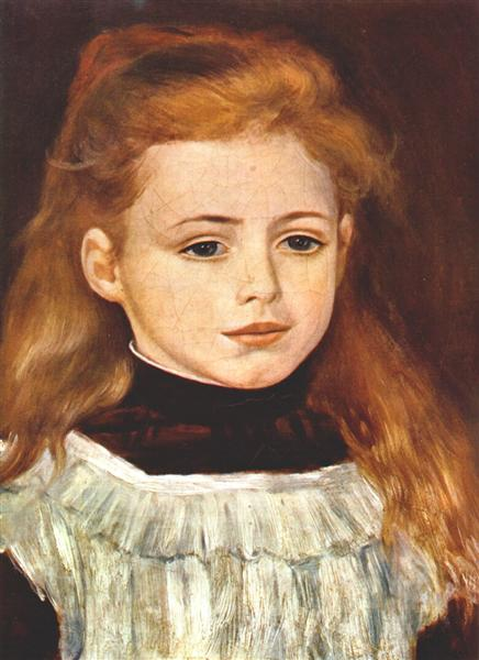Portrait of Lucie Berard, 1879 - Pierre-Auguste Renoir ...