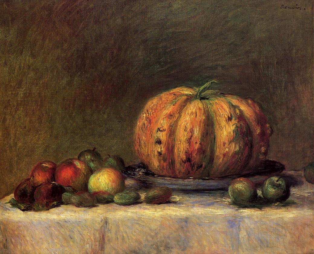 Still Life with Fruit - Pierre-Auguste Renoir - WikiArt ...
