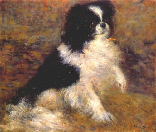 Tama the japanese dog - Pierre-Auguste Renoir