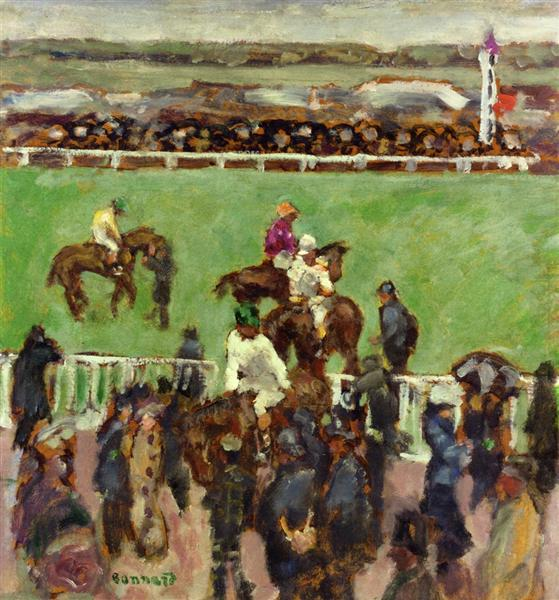 At the Races, Longchamp, 1894 - Pierre Bonnard