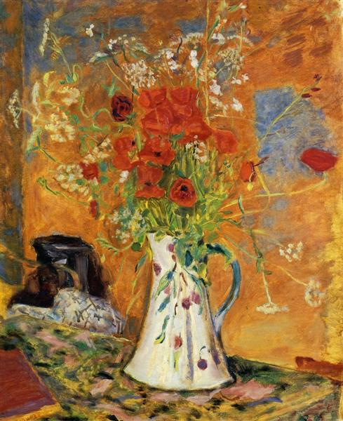 Poppies, c.1914 - c.1915 - Pierre Bonnard