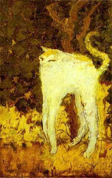 The White Cat, 1894 - Pierre Bonnard