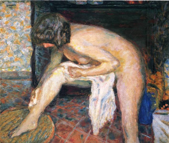 Woman leaning, 1907 - Pierre Bonnard
