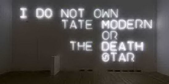 I Do Not Own Tate Modern or the Death Star - Pierre Huyghe