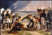Death of Marshal Lannes, Duke of Montebello - Pierre Narcisse Guérin