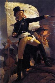 Henri de La Rochejaquelein , leader of the revolt in the Vendee - Pierre Narcisse Guérin