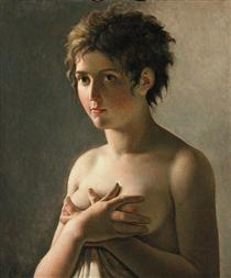 Portrait of a Young Girl - Pierre Narcisse Guérin