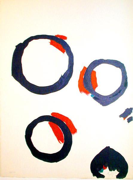 Affiche n. 92, 1965 - Pierre Tal-Coat