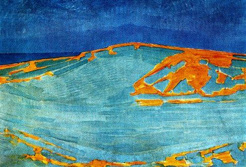 Dune in Zeeland - Piet Mondrian
