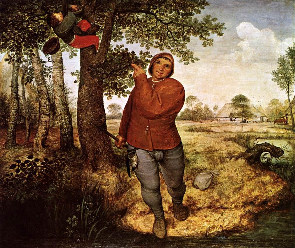 Peasant and Birdnester, 1568
