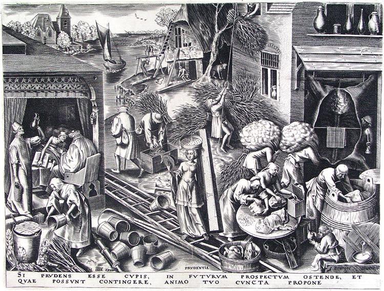 Prudence, c.1556 - c.1560 - Pieter Bruegel the Elder