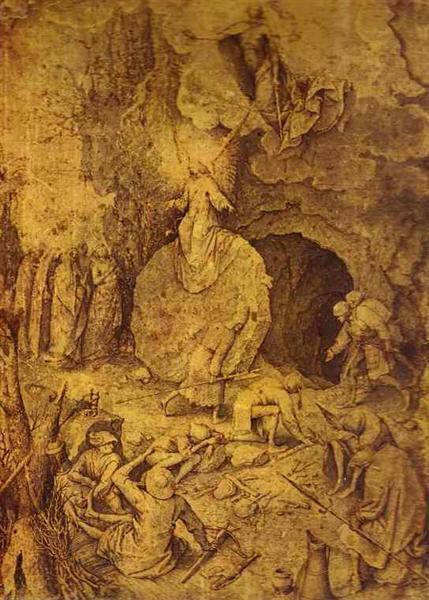 The Resurrection of Christ, c.1560 - Pieter Bruegel o Velho