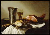 Breakfast Piece - Pieter Claesz