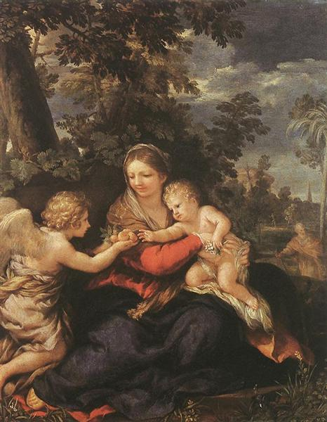 Holy Family Resting on the Flight to Egypt, 1643 - Pietro da Cortona