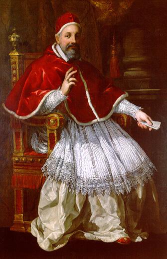 Pope Urbanus VIII (Maffeo Barberini), 1627 - Pietro da Cortona