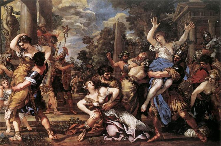 The Rape of the Sabine Women, 1627 - 1629 - П'єтро да Кортона