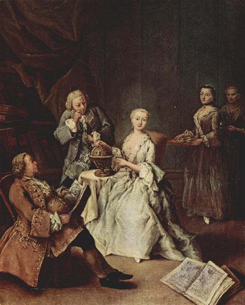 The Geography Lesson - Pietro Longhi