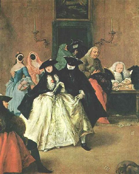 The Parlour - Pietro Longhi