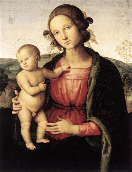 Madonna and Child - Perugino Pietro