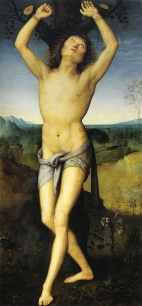 St. Sebastian - Pietro Perugino