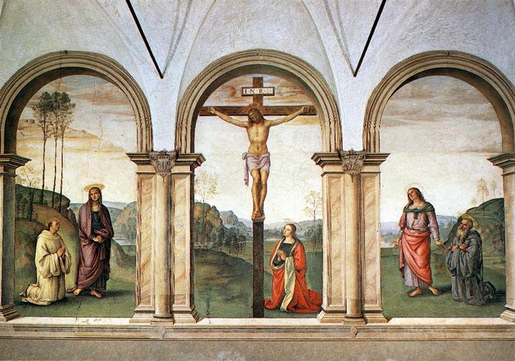 The Pazzi Crucifixion - Perugino Pietro
