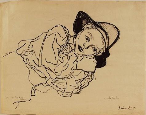 Young Shepherd, 1941 - Piroska Szanto
