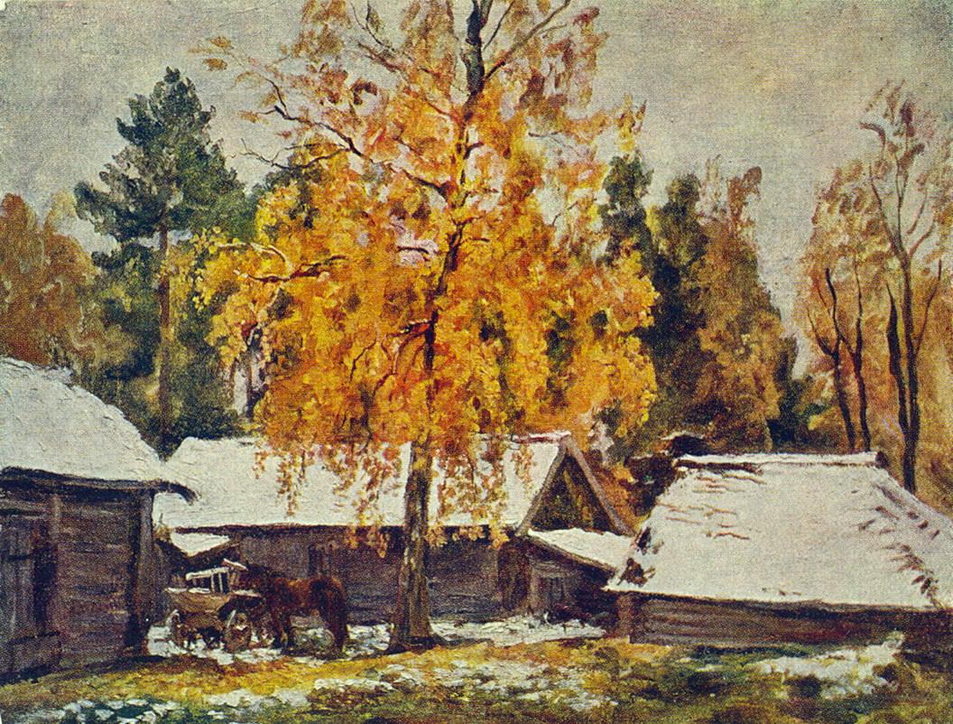 First Snow, 1940