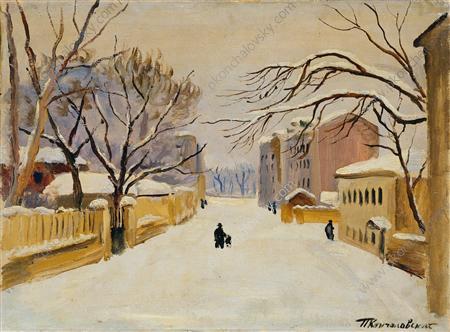 Moscow. Spiridonovka., 1931