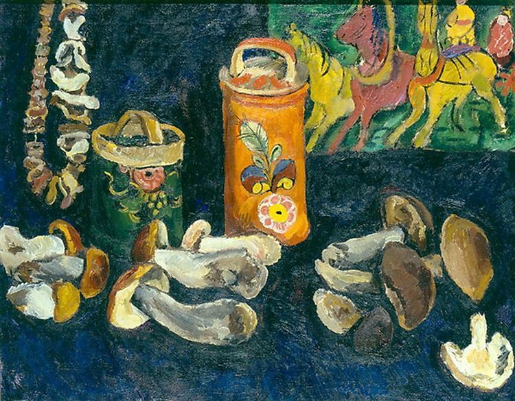 Mushrooms, 1911 - Pyotr Konchalovsky