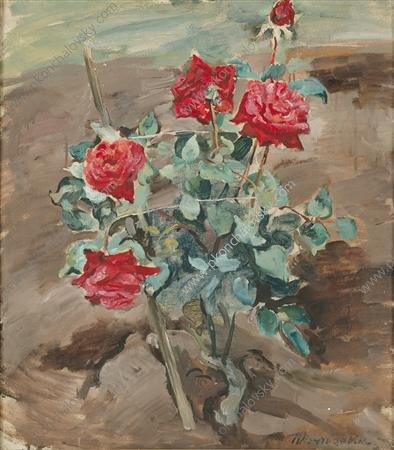 Roses in the ground, 1935