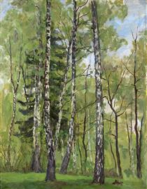 Spring Day - Pjotr Petrowitsch Kontschalowski