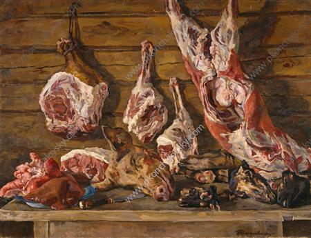 Still Life. The meat., 1936