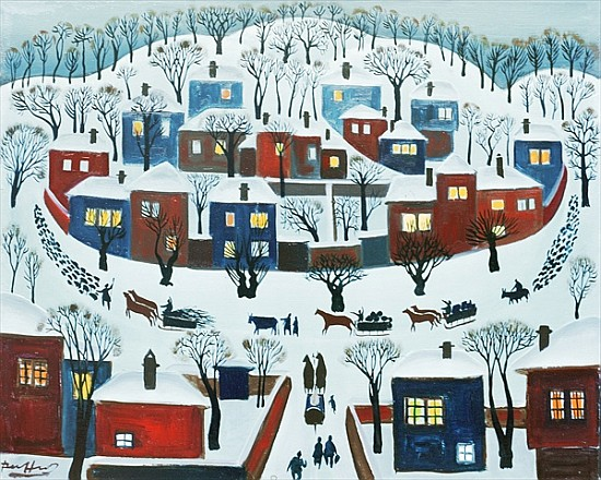 Winter Village, 1969 - Radi Nedelchev