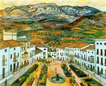 Museum garden - Rafael Zabaleta