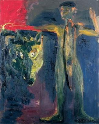 Der Wolfsjunge, 1983 - Rainer Fetting
