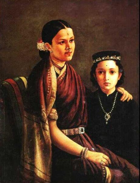 Mrs. Ramanadha Rao - Raja Ravi Varma