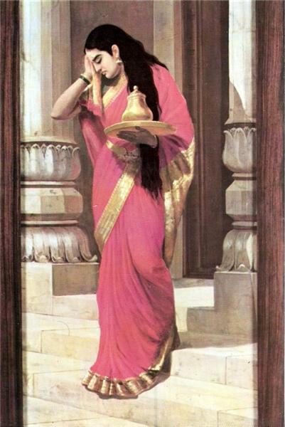 Pleasing - Raja Ravi Varma