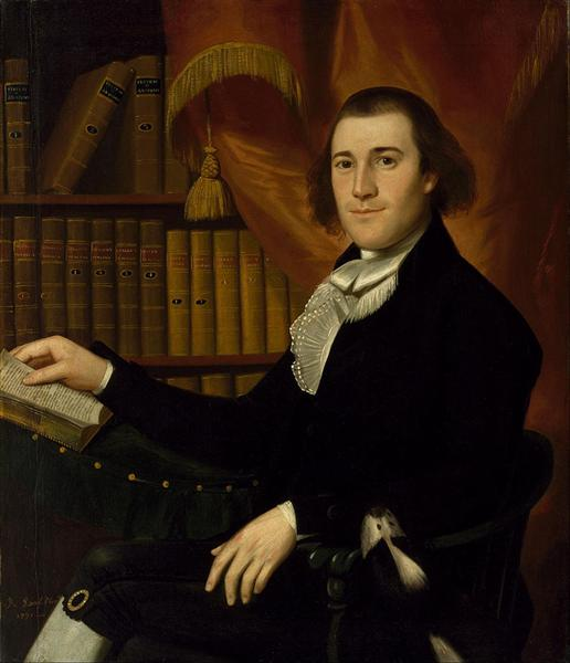 Portrait of Dr. Mason Fitch Cogswell - Ralph Earl