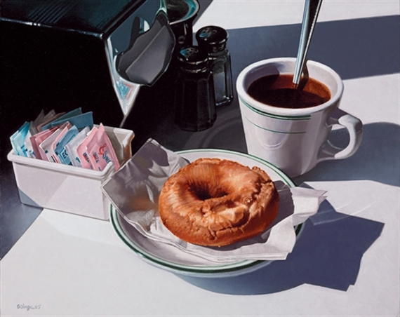 Coffee and Donut, 2005 - Ralph Goings